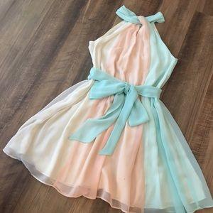 Victoria's Secret Chiffon Dress.